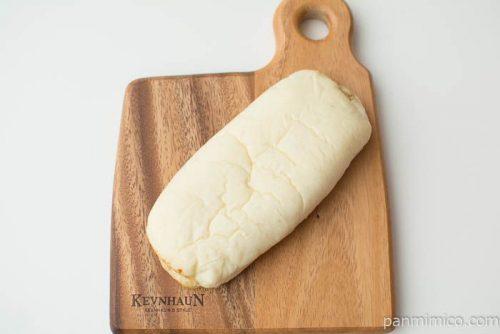 鶏ごぼうパン 和風白だし使用【第一パン】上から見た図