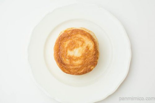 マチノパン まんまるデニッシュ ミルククリーム【ローソン】上から見た図