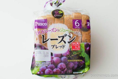 レーズンブレッド【Pasco】パッケージ写真