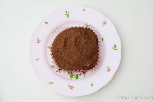 ティラミス仕立てのクリームパンケーキ【ローソン】上から見た図