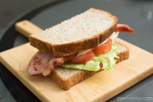 全粒粉山型ブレッド【オイシス】サンドイッチ