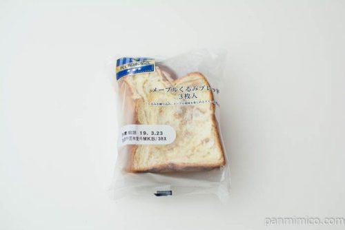 KBCメープルくるみブレッド3枚入【神戸屋】パッケージ写真