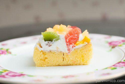 ふんわりフルーツケーキ【ドンレミー】断面図