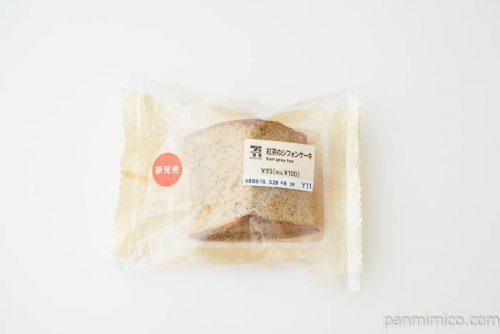 紅茶のシフォンケーキ【セブンイレブン】パッケージ写真