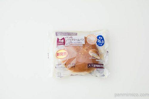 NL ブランのダブルクリームパン【ローソン】パッケージ写真