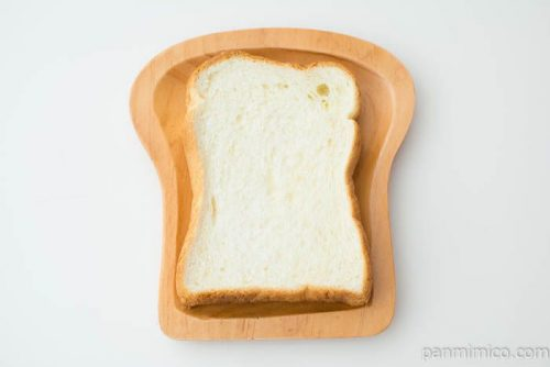 トーストしてサクサク食感 デニッシュ食パン【トップバリュ】上から見た図