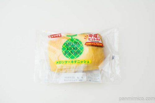 メロンケーキデニッシュ【ヤマザキ】パッケージ写真