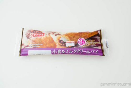 小倉&ミルククリームパイ【ヤマザキ】パッケージ