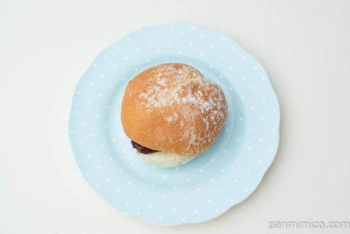 フランスサンド(粒あん&マーガリン)【ヤマザキ】上から見た図