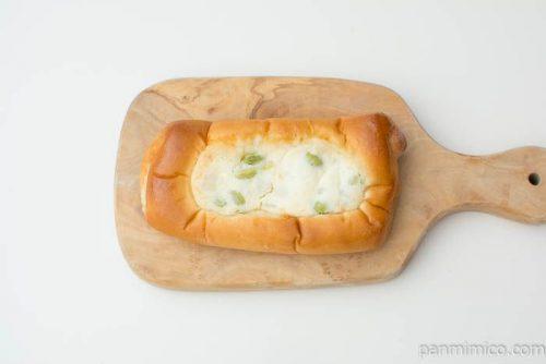たっぷりポテトサラダ 枝豆入り【第一パン】上から見た図