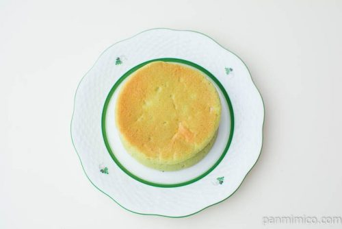 平焼きメロンパン メロンホイップ【Pasco】上から見た図