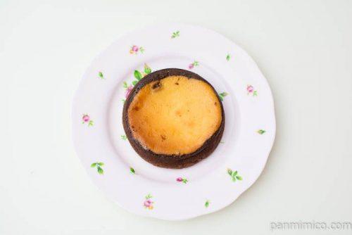マチノパン 珈琲香るチーズタルト【ローソン】上から見た図