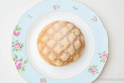サックサク食感!バター香るメロンパン【セブンイレブン】上から見た図