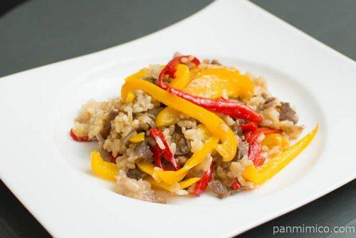 Cook Do(クックドゥ)青椒肉絲【味の素】炊き込みご飯完成図