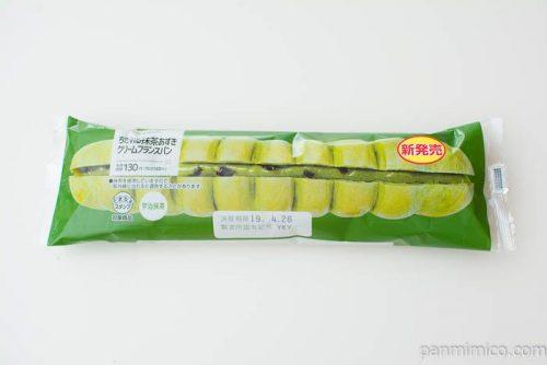 ちぎれる抹茶あずきクリームフランスパン【ローソン】パッケージ