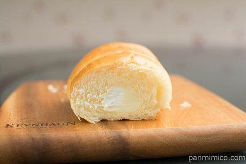 塩バターコロネ(塩バニラクリーム&ホイップクリーム)断面図