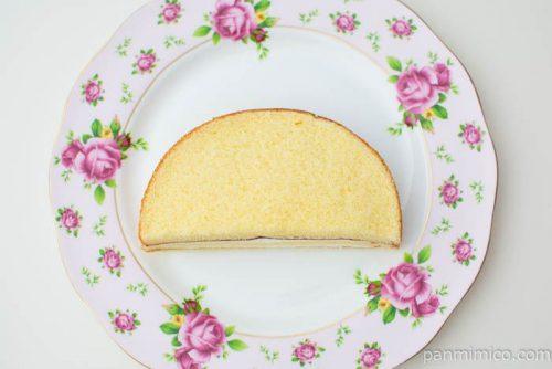 ホイップサンドケーキ(バニラヨーグルトクリーム使用)ヤマザキ上から見た図