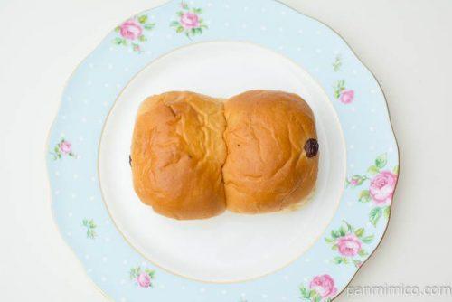 ぶどうぱん(マーガリンサンド)【ヤマザキ】上から見た図