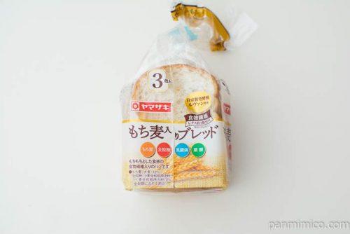 もち麦入りブレッド(3)【ヤマザキ】パッケージ