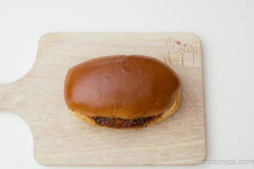 北海道産じゃがいものコロッケパン【セブンイレブン】上から見た図