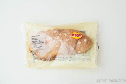 マカロンクロワッサン(六甲山麓牛乳入りホイップ使用)【ローソン】パッケージ