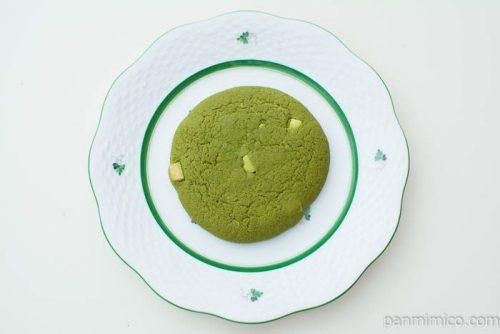 抹茶のソフトクッキー(西尾産抹茶使用)【ローソン】上から見た図