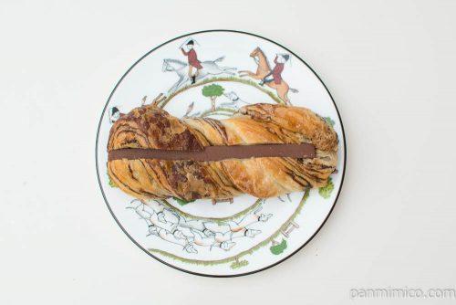 ムースチョコレートサンド【ヤマザキ】上から見た図
