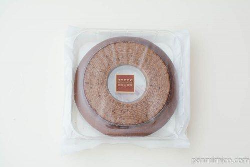 ベルク(チョコ)クリアパック 1段バウムウントバウムパッケージ