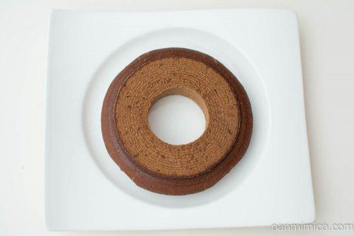 ベルク(チョコ)クリアパック 1段バウムウントバウム上から見た図