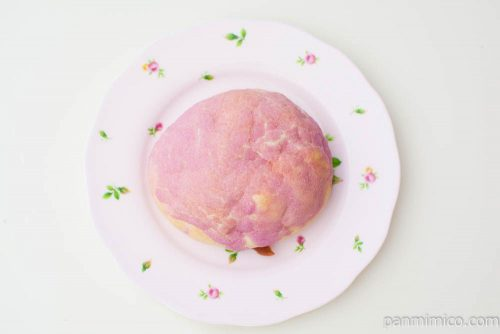 悪魔の実みたいなパン【ヤマザキ】上から見た図