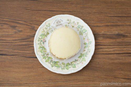 タピオカミルクティー風味蒸しケーキ【ヤマザキ】上から見た図