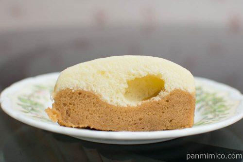 タピオカミルクティー風味蒸しケーキ【ヤマザキ】断面図