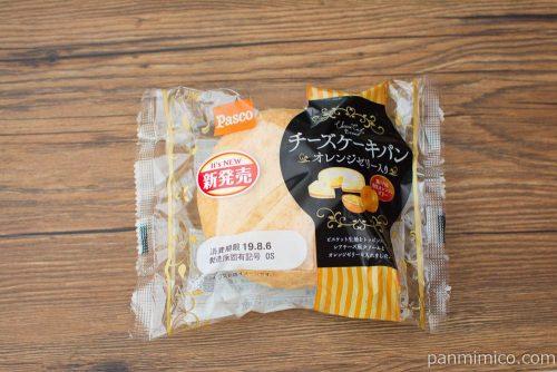 チーズケーキパン オレンジゼリー入り【Pasco】パッケージ