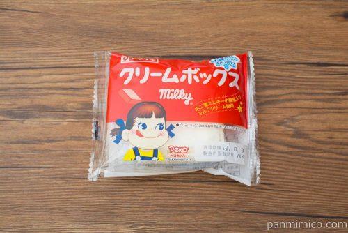 クリームボックス(不二家ミルキーの練乳入りミルククリーム)パッケージ