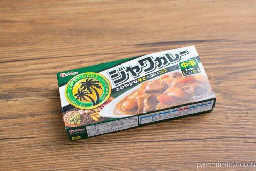 「104g ジャワカレー〈中辛〉」ハウス食品パッケージ