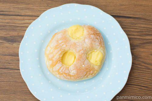 ブリオッシュ風クリームパン【第一パン】上から見た図