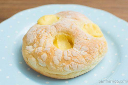 ブリオッシュ風クリームパン【第一パン】横から見た図