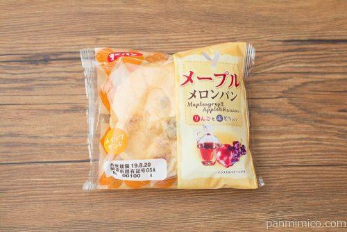 メープルメロンパン りんごとぶどう入り【第一パン】パッケージ