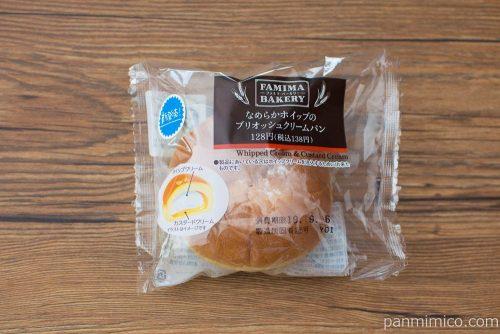 ブリオッシュクリームパン【ファミリーマート】パッケージ