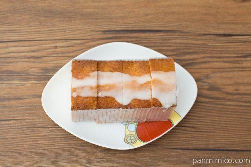レモンのケーキ【タカキベーカリー】上から見た図