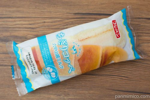 ちぎりコッペ六甲山麓ミルク【フジパン】パッケージ