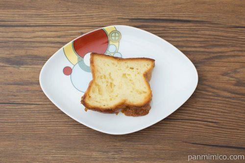 デニッシュフレンチトースト ミルキー(2)【ヤマザキ】上から見た図