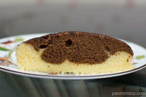ラ・ベットラ 2層のティラミス蒸し【第一パン】断面図
