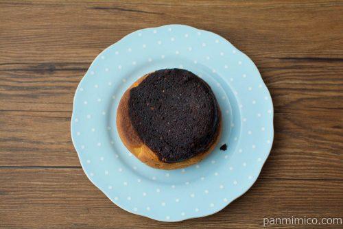 ブラウニーパン(チョコクリーム入り)【ヤマザキ】上から見た図