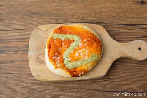 ラ・ベットラ バジル香るトマトピザ【第一パン】上から見た図