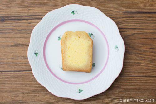 マモン・エ・フィーユ ブランデーケーキ(フレンチブランデー)カット上から見た図