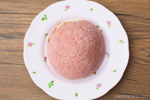 おさつメロンパン【ヤマザキ】上から見た図