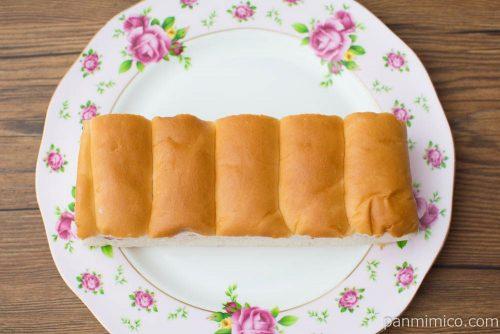 牛乳パン いちご【Pasco】上から見た図