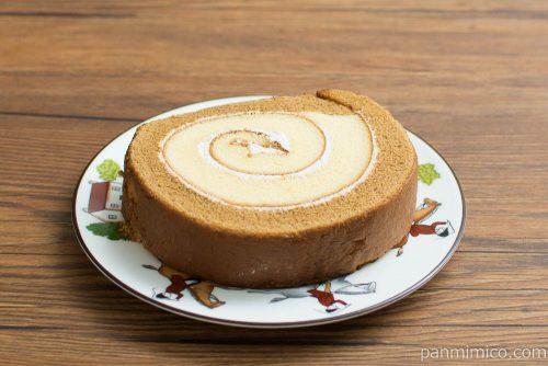 ダブルロール(モカコーヒーゼリー入り)【ヤマザキ】横から見た図
