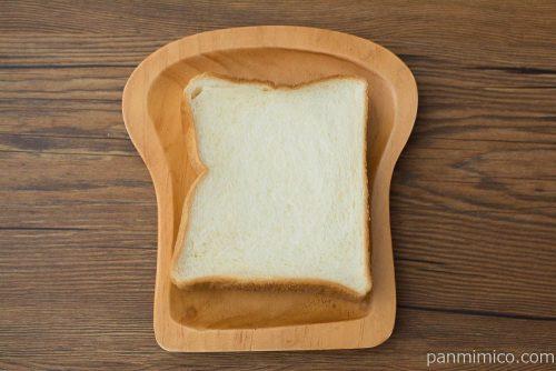 おいしい食パン 4枚スライス【Pasco】上から見た図
